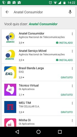 App Anatel Consumidor android