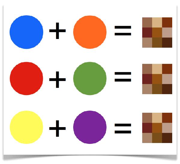 Famosos Como fazer a cor marrom? EV71